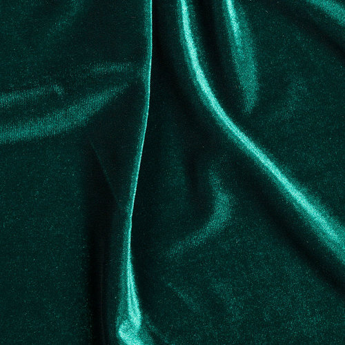 Velvet Hunter Green Mgm Fabric