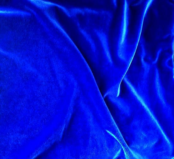 Home Products Velvet Fabric Royal Blue