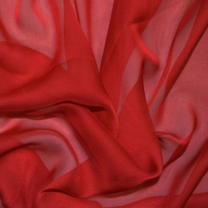 bright-red-cationic-chiffon-fabric