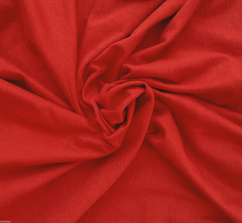 Rayon Spandex  Red