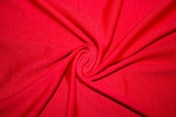Solid Polyester  Red